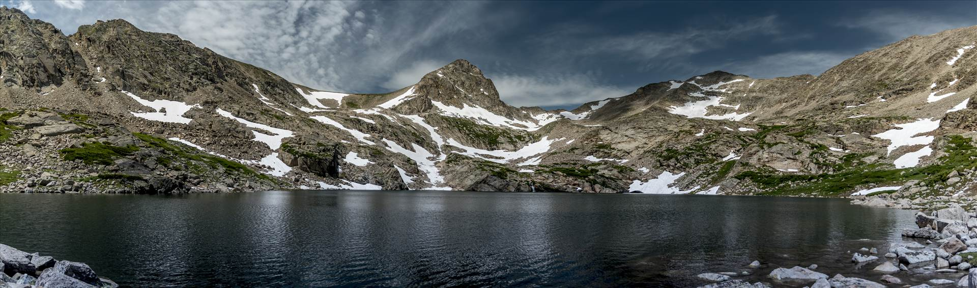 Blue Lake Colorado.jpg - Pano of Blue Lake by Dennis Rose